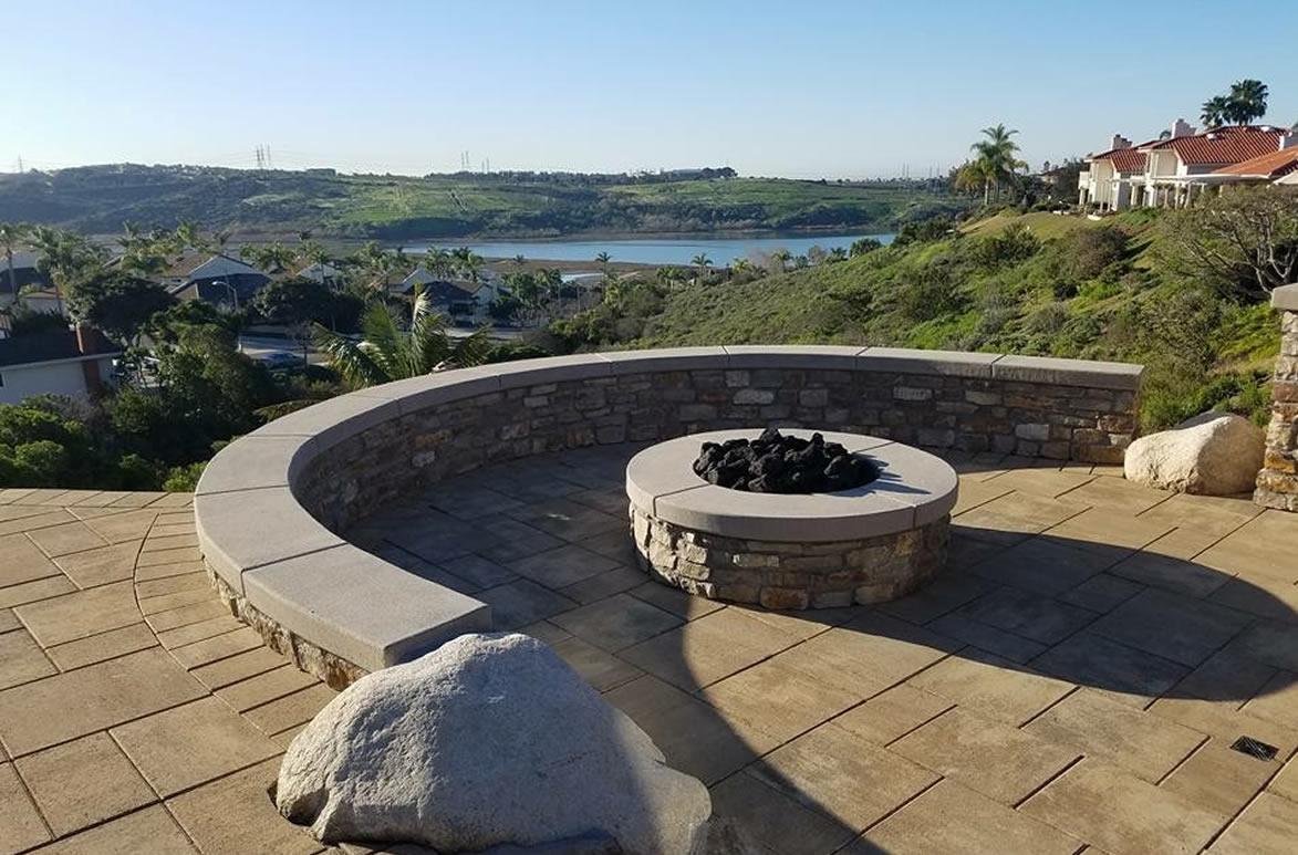 fire pits is it safe for my yard savon pavers