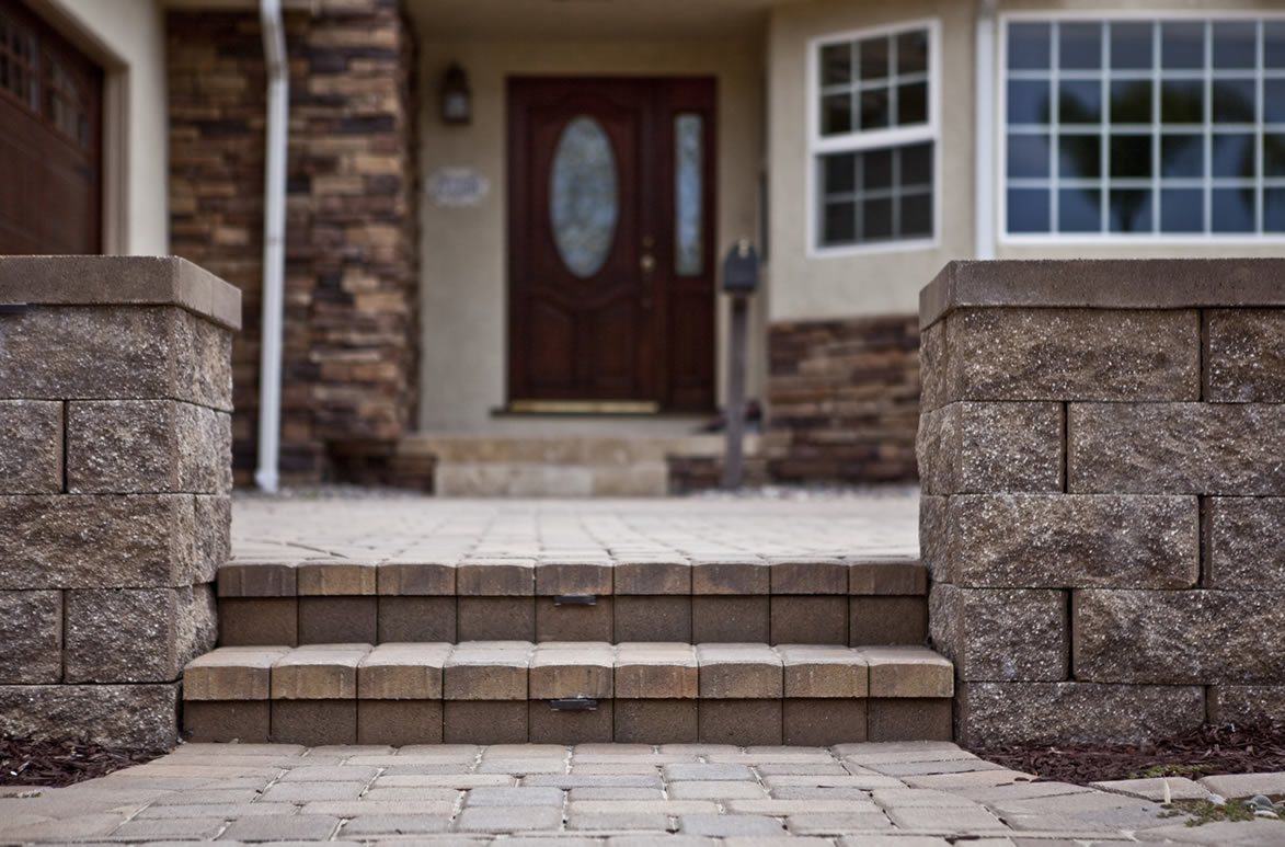 Entryway Pavers