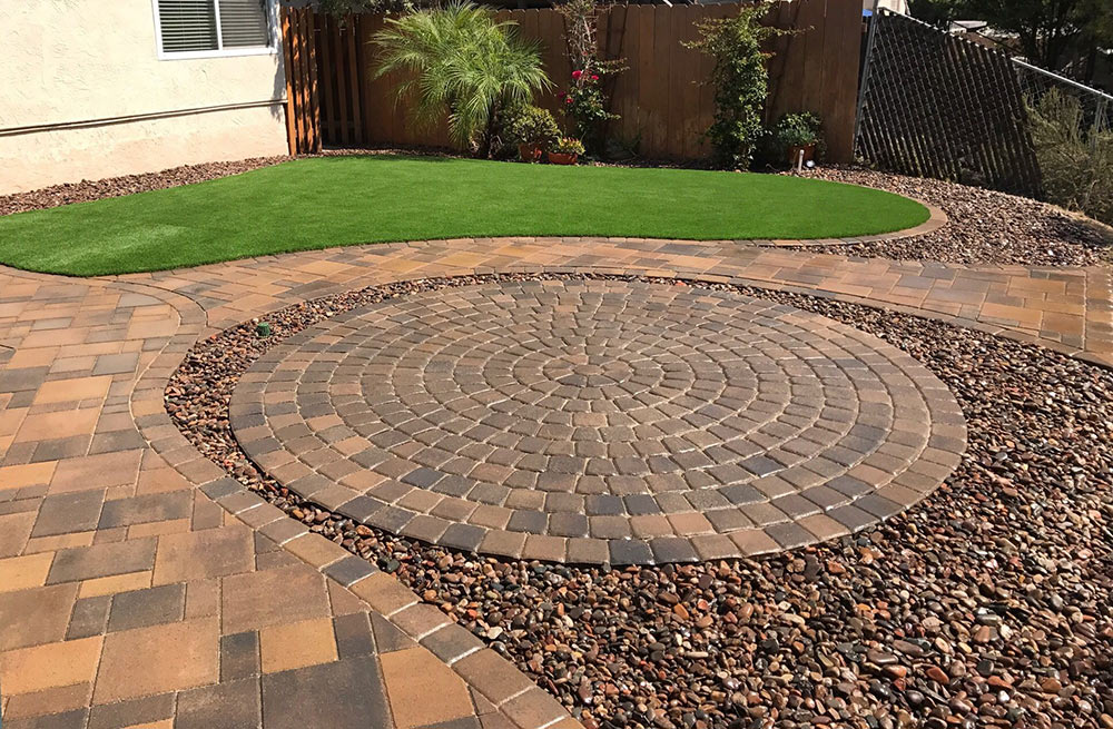 design with colors pavers