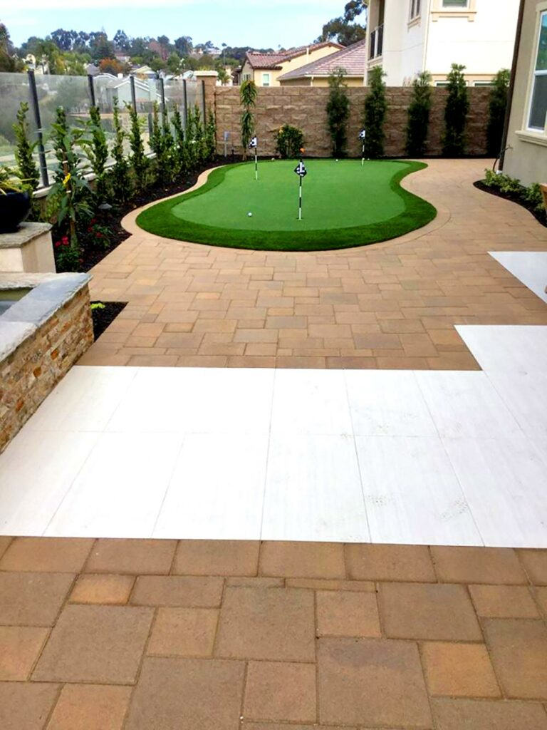 paver path patio