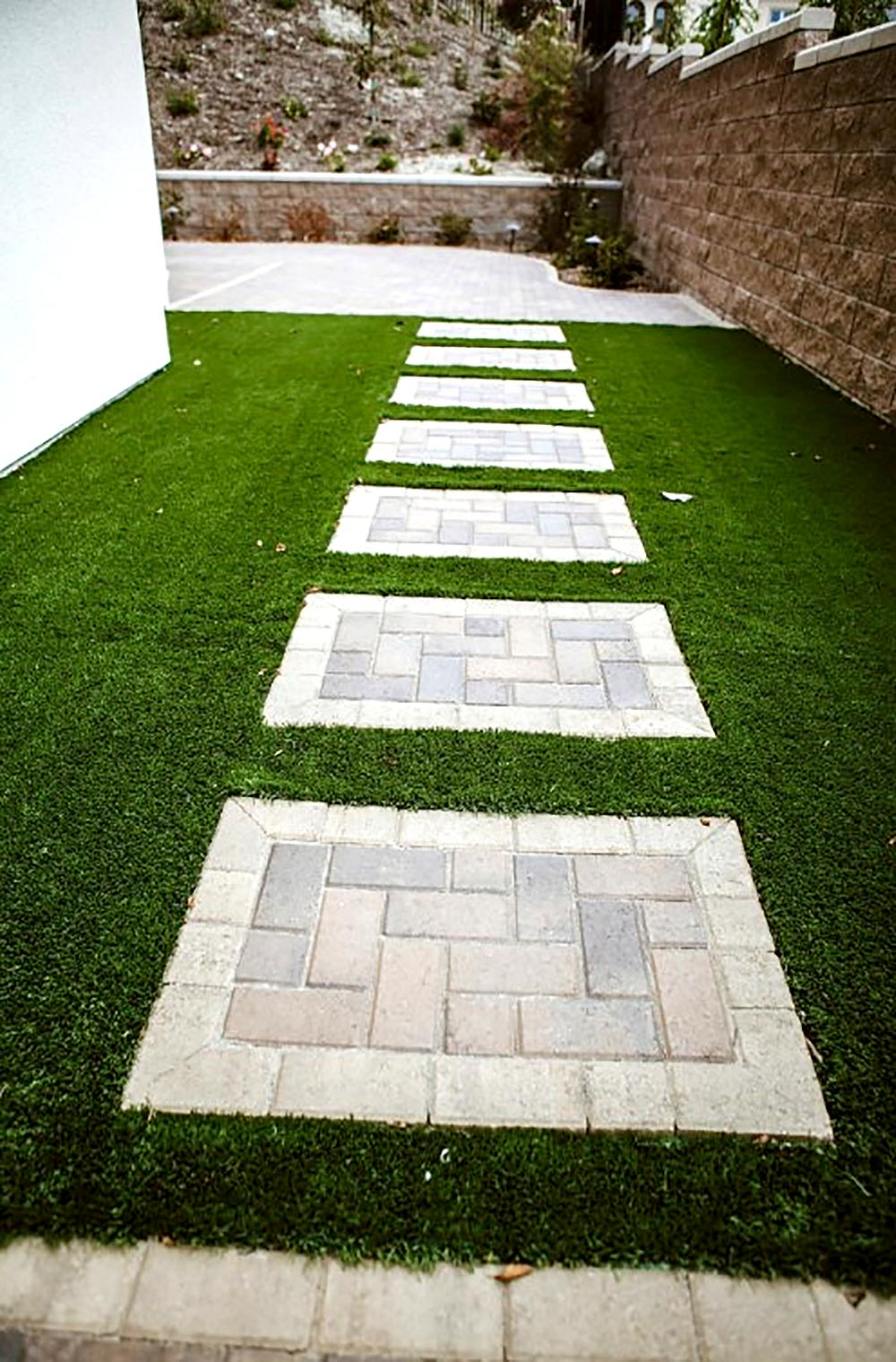 Modern Paver Patio Ideas | Savon Pavers Southern ... on Turf Patio Ideas id=94280
