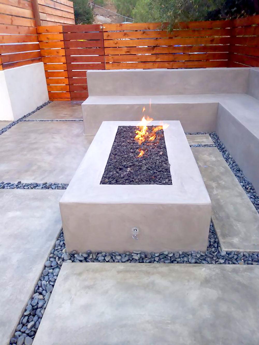 Modern firepit modern design