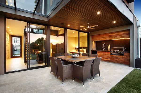modern indoor braai area ideas